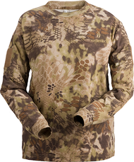 Kryptek Stalker Men's Long Sleeve Shirt Highlander Camo Large