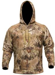 Kryptek Tartaros Men's Hoodie Sweatshirt Highlander Camo/Tan XLarge