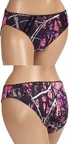 Weber Camo Muddy Girl Women's Pantie Underwear Small