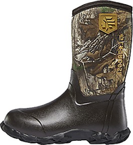 La Crosse Lil' Alpha Lite 5.0mm Boots Realtree Camo Size 3 - 1 Pair Youth Boots