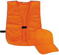 Outdoor Cap Youth Cap & Vest Combo Blaze Orange