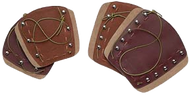 """Neet Deluxe Traditional Armguard Brown  6 1/4"""""""