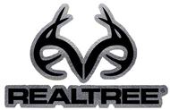 "Stoltz Realtree Antler Logo Die-Cut Decal Chrome 4""x6"""