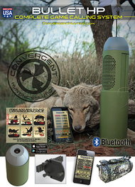 Big Shot Convergent Bullet HP Bluetooth Calling System Electronic Game Call