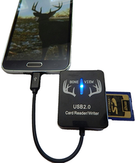 Boneview 2.0 Card Reader for Android Phones w/Blue LED