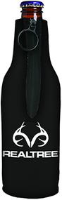 Stoltz Bottle Cooler White Realtree Logo Black