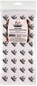 """SPG Realtree All Purpose Xtra Camo Tissue Paper 5 Sheets 26""""x20"""""""