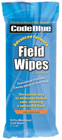 Code Blue Field Wipes