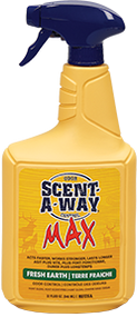 Hunter Specialties Scent-A-Way Max Fresh Earth Spray 32oz