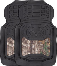 Realtree Floor Mat Xtra Camo with Black Trim - 1 Pair