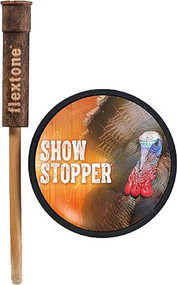 Flextone Show Stopper Glass Pot Call Turkey Call