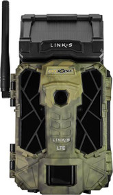 Spypoint Link S Verizon 12mp Solar Cellular Game Camera Camo