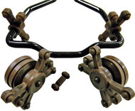 Bow Jax Split Limb Crossbow Kit Brown Swirl Camo