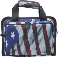 Allen Victory Duplex Handgun Case Custom Flag Pattern