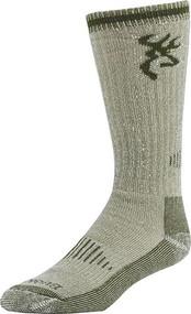 Browning Redwood Men's Socks Olive - 1 Pair Size Large