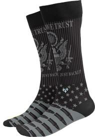 Buck Wear In GOD We Trust Socks One Size Fits Most (9-15) - 1 Pair Socks