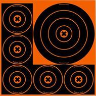Birchwood Casey Big Burst 8 Inch & 4 Inch Target - 18 Pack