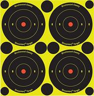Birchwood Casey Shoot NC 3 Inch Bullseye 30 Target - 12 Pieces