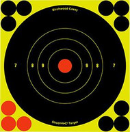 Birchwood Casey Shoot NC 5.5 Inch Bullseye 10 Target - 10 Pieces