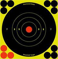 Birchwood Casey Shoot NC 5.5 Inch Bullseye Target - 50 Pieces