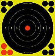 Birchwood Casey Shoot NC 8 Inch Bullseye Target - 25 Pieces