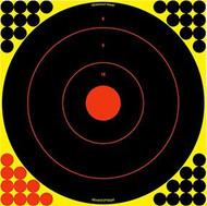 Birchwood Casey Shoot NC 17.25 Inch Bullseye Target - 5 Pack