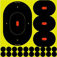 Birchwood Casey Shoot NC 9 Inch Silhouette Target - 5 Pack