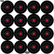 Birchwood Casey Dirty Bird 3 Inch Bullseye Target - 12 Pieces