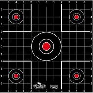 Birchwood Casey Dirty Bird 12 Inch Sight In Target - 12 Pieces