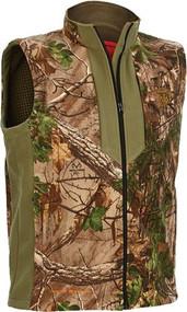 Artic Shield Heat Echo Fleece Vest Realtree Xtra Camo XL
