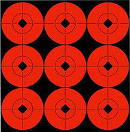 Birchwood Casey  2 Inch Flo Red Target Spot - 12 Pieces