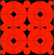 Birchwood Casey 3 Inch Flo Red Target Spot - 12 Pieces