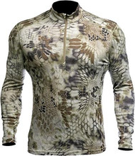 Kryptek Hoplite II Baselayer Top Mid- Weight Highlander Camo XL