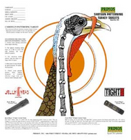 Primos Shotgun Patterning Turkey Target - 12 Pieces