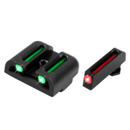 TruGlo Brite-Site Fiber-Optic Handgun Sight - Glock Low Set