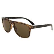 Bobster Hex Folding Sunglasses Gloss Tortoise Frame-Brwn Len