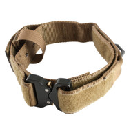 US Tactical K9 Receiver Collar - Coyote - Size 16-20 inch