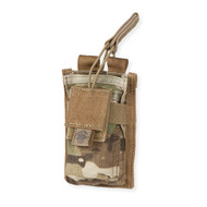 Tacprogear Single Rifle Mag Pouch w/Pistol Pocket Multicam