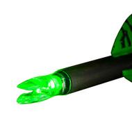 Nockturnal Lighted Nocks Model-H Green 3pk NT-405