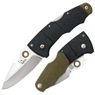 Cold Steel Grik Folder 3.0 in Plain OD Green GFN Handle