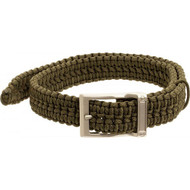 Timberline Olive Paracord Survival Belt-Large