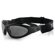 Bobster GXR Sunglasses-Matte Black Frame with Smoked Lens