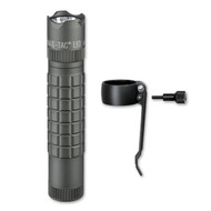 Maglite Mag-Tac CR123 Flashlight, Crowned-Bezel, Urban Gray