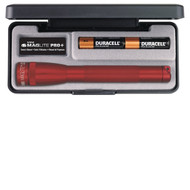 Maglite AA Mini LED Pro+ AA Red Flashlight Presentation Box