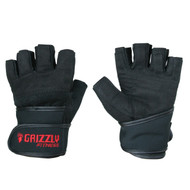 Grizzly Power Training Wrist Wrap Gloves - Small