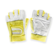 Grizzly Womens Yellow Grizzly Paw Gloves - Small