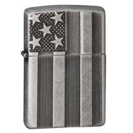 Zippo Classic US Flag Deep Carve Lighter 28974