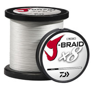 Daiwa J-Braid Fishing Line - 65 Lb Test 330 Yards - White