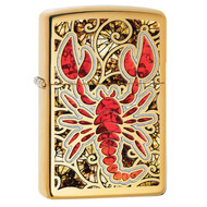 Zippo Scorpion Shell Pocket Lighter 29096