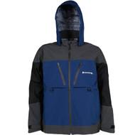 Compass 360 D300 HydroTek Rain Parka-Blue/Black/Slate-MD